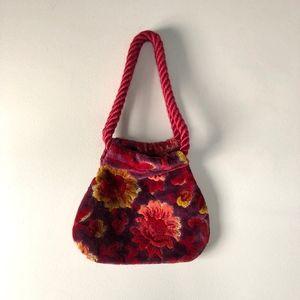 Carpetbags of America Vintage Velvet Handbag